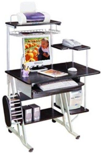 Techni Mobili RTA-1300A Computer Desk, Adjustable View Series .