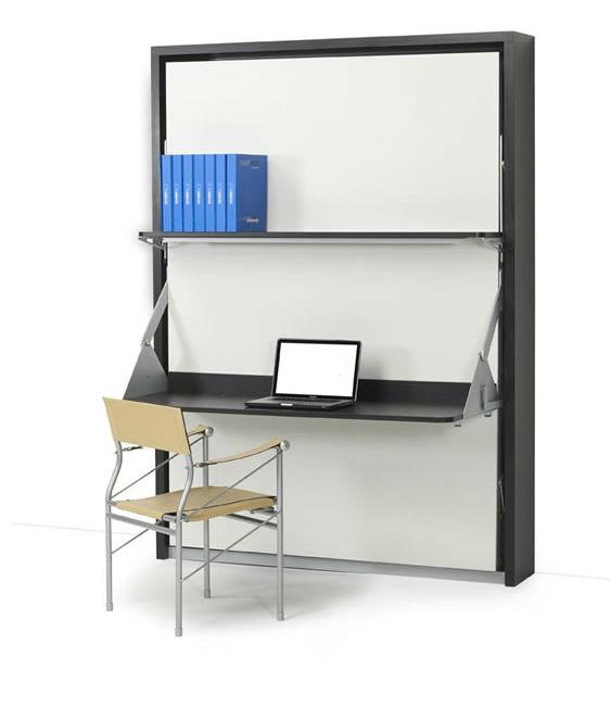 Vertical Italian Wall Bed Desk | Expand Furnitu