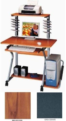 Techni Mobili RTA-2350B Computer Desk, Straight View Series, This .