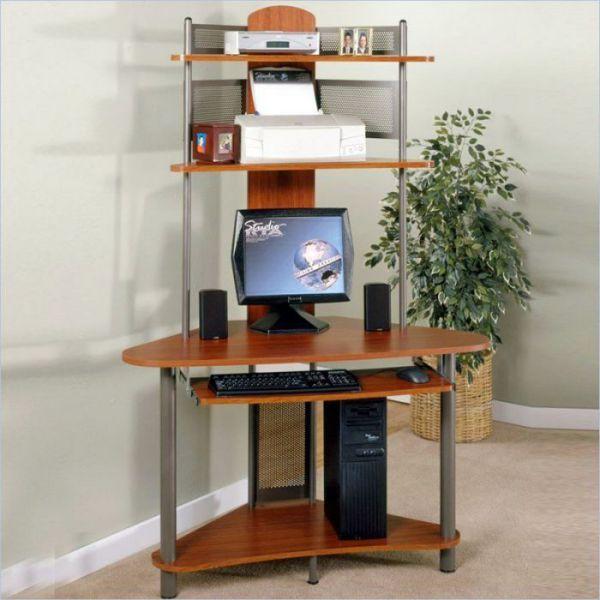 RTA vertical corner computer desk | Small corner desk, Desks for .