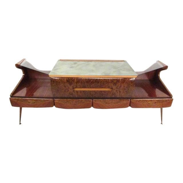 Vintage Italian Sideboard in the Style of Vittorio Dassi | Chairi