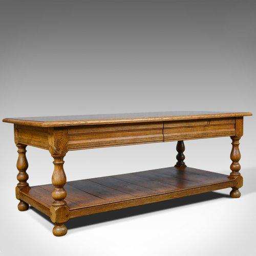 Antiques Atlas - Vintage Oak Coffee Table, English, Drawers, C20
