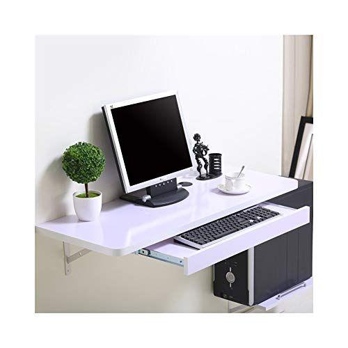 MDBLYJ Laptop Table Simple Desktop Computer Desk, Wall-Mounted .