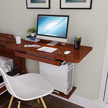Amazon.com: Virod-Home Office Desks Wall-Mounted Computer Desk .