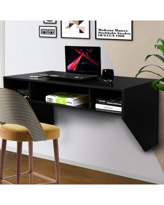Spectacular Savings on Jaxpety Black Wall Mounted Floating .