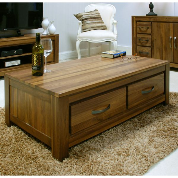This stunning solid walnut coffee table is part of our Mayan .