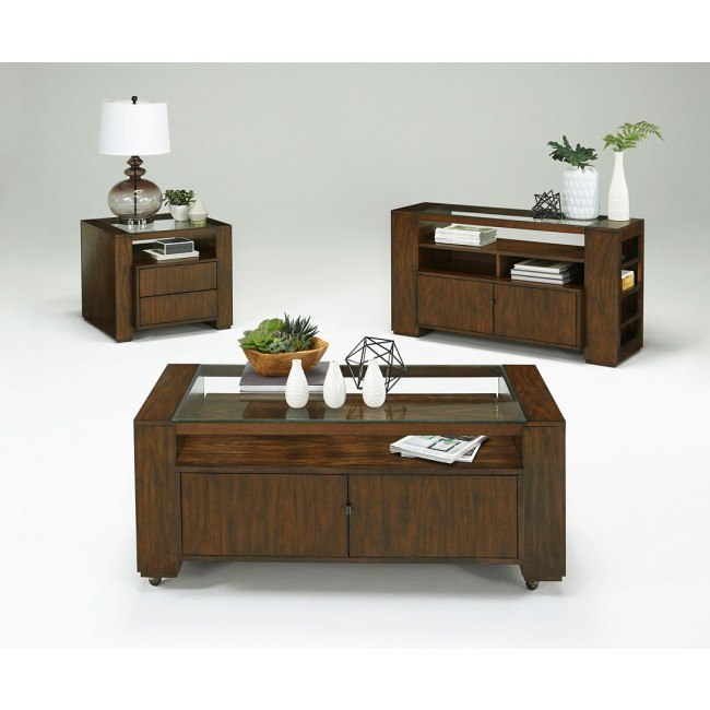 Contempo Rectangular Occasional Table Set Progressive Furniture .