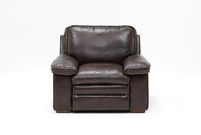 Walter Leather Chair | Living Spac