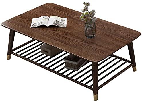 Amazon.com: Coffee Tables Nordic Solid Wood Ash Wood Wax Oil Green .