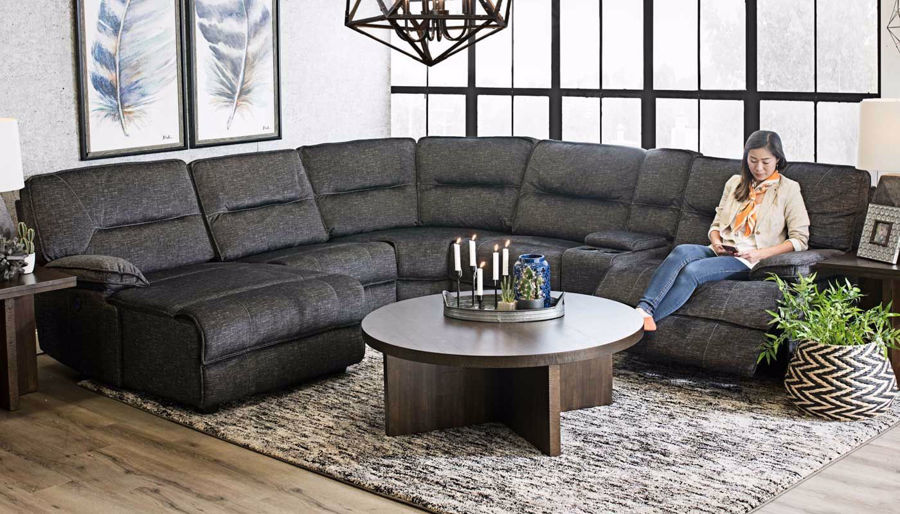 Pacifica 6-Piece Sectional - Home Zone Furniture | Living Room .