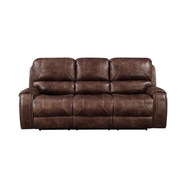 Right2Home Brown Jennings Power Reclining Sofa A398U-403-139 - The .