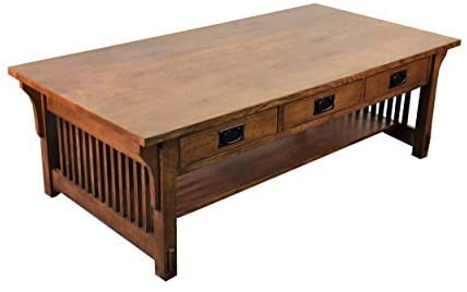 Amazon.com: Crafters and Weavers Mission Quarter Sawn Oak Coffee .