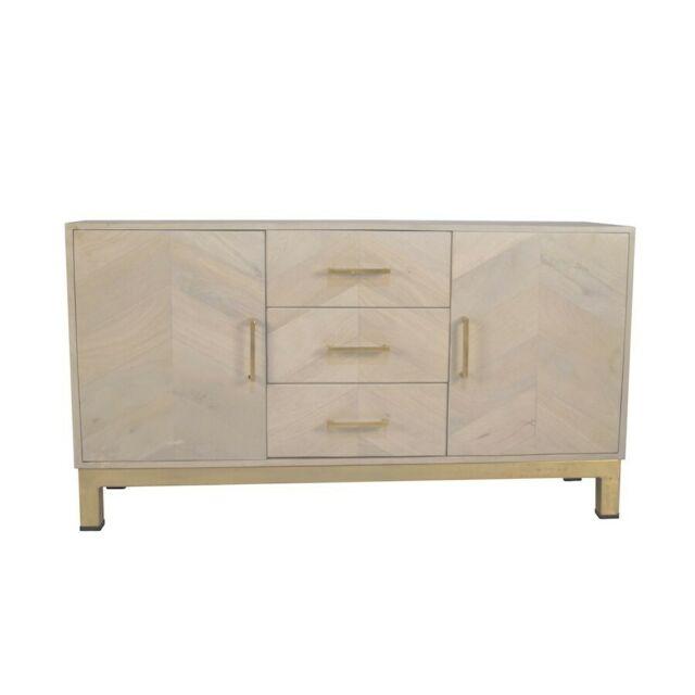 Hans Andersen Home Adelanto 3 Drawer Wooden Sideboard for sale .