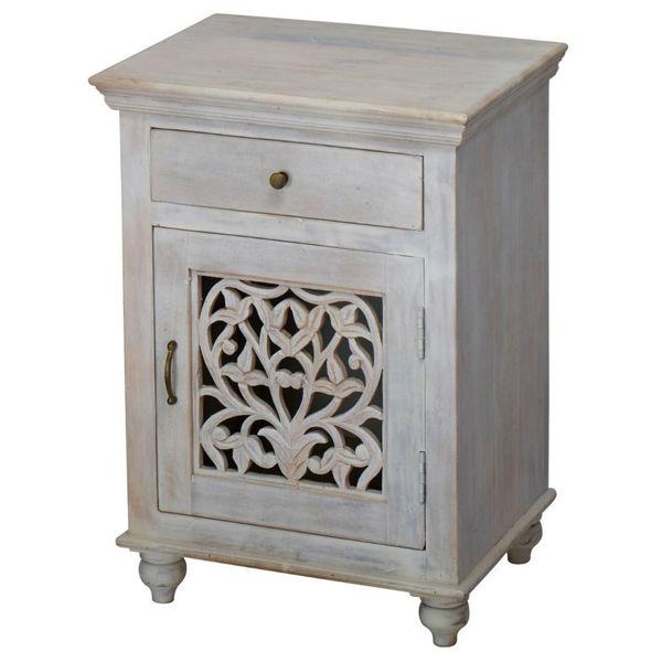 Luna Bedside Cabinet | American Home Furniture and Mattress .