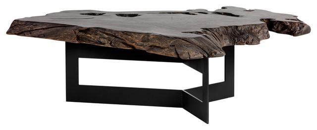 Sunpan Wyatt Coffee Table - Rustic - Coffee Tables - by HedgeApp