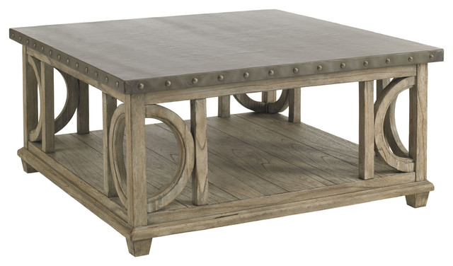 Wyatt Cocktail Table - Farmhouse - Coffee Tables - by Lexington .