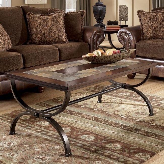 Zander Rectangular Cocktail Table Signature Design | Furniture Ca