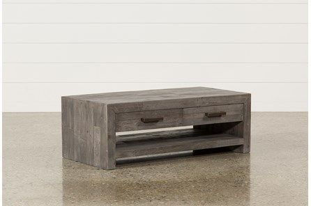 Zander Coffee Table - Grey - $495 | Coffee table living spaces .