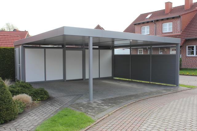 Carport aus Aluminium - Contemporary - Garage - Other - by .