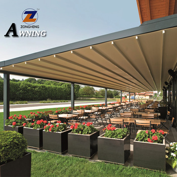 Hot selling window retractable awning/patio rain cover/aluminum .