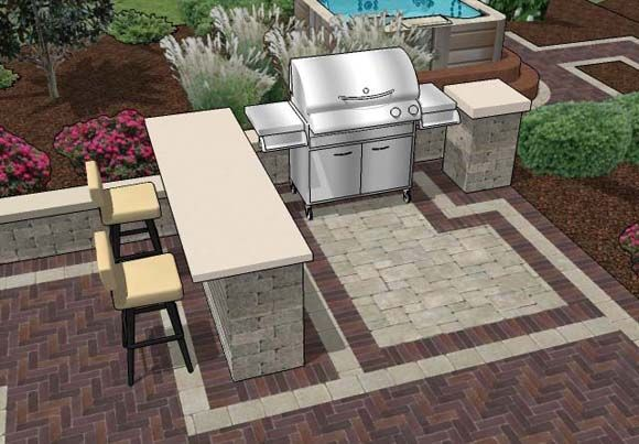 Pin by Jazmin Bello-Andeliz on Backyard ideas...   Outdoor bar and .