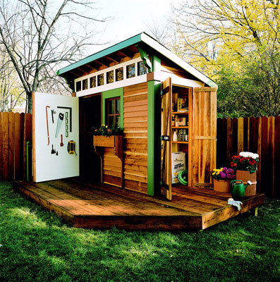 Relaxshacks.com: Micro-SHED-alicious- These seven little backyard .