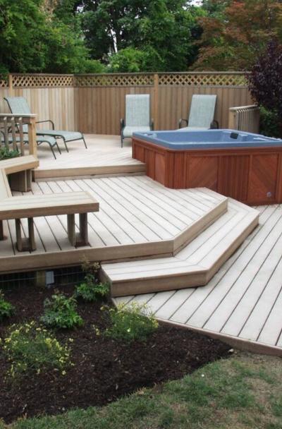 53 Awesome Backyard Deck Ideas | Sebring Design Bui