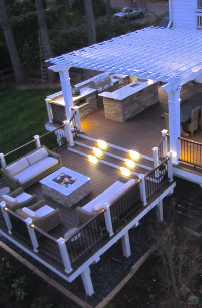 53 Awesome Backyard Deck Ideas | Sebring Design Bui
