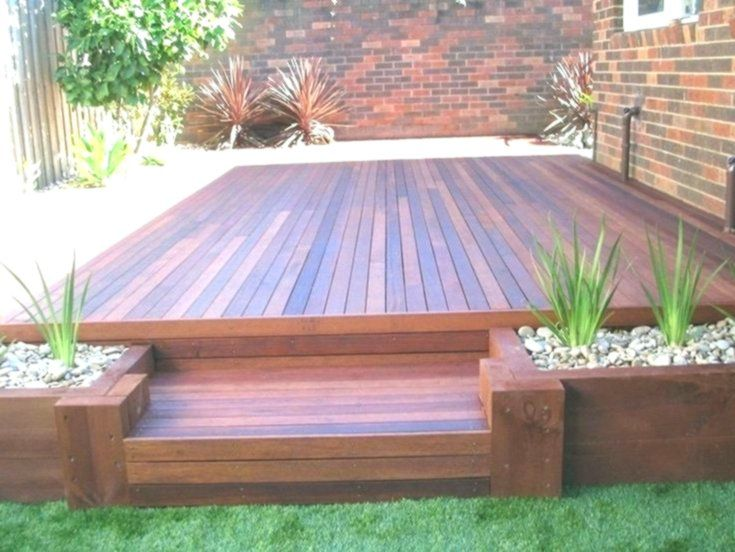 20+ Gorgeous Small Wooden Deck Ideas for Small Backyards .