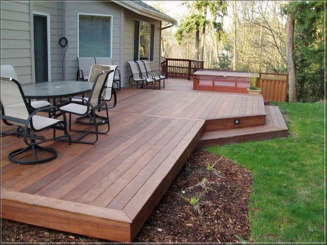 Small Backyard Decks & Patios Backyard Deck Design Ideas Home .
