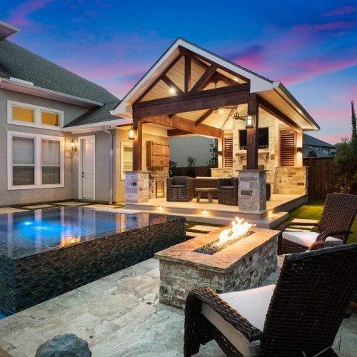 Custom Outdoor Kitchens, Patios, Backyard Design Katy and Houst