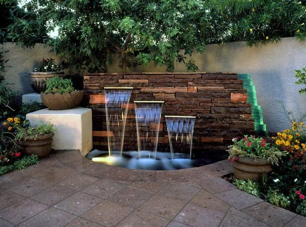 15 Unique Garden Water Features | Water features in the garden .