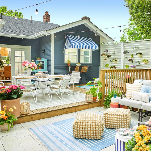20 Small Backyard Ideas - Small Backyard Landscaping and Patio Desig