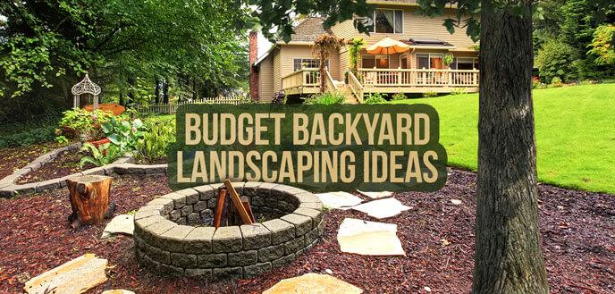 10 Ideas for Backyard Landscaping on a Budget | Budget Dumpst