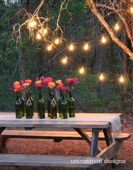 Easy Outdoor Party Lighting Ideas | Outdoor party lighting .