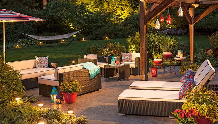 Lighting Ideas for Outdoor Livi