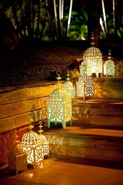 Romantic Outdoor Lights, Attractive Lighting Ideas for Decorating .