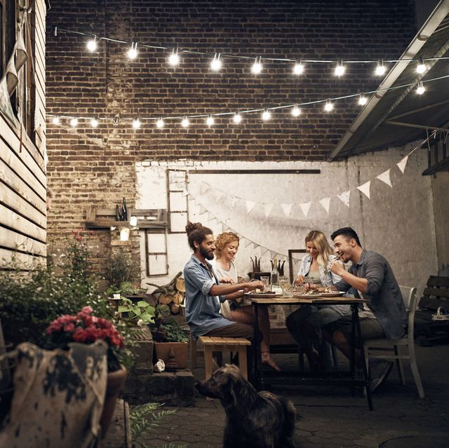 15 Best Outdoor Lighting Ideas - Easy Backyard Lighting Ide