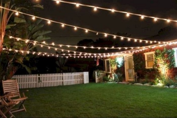 Backyard Lighting Ideas: 23+ Inspiring Cheap DIY Desig