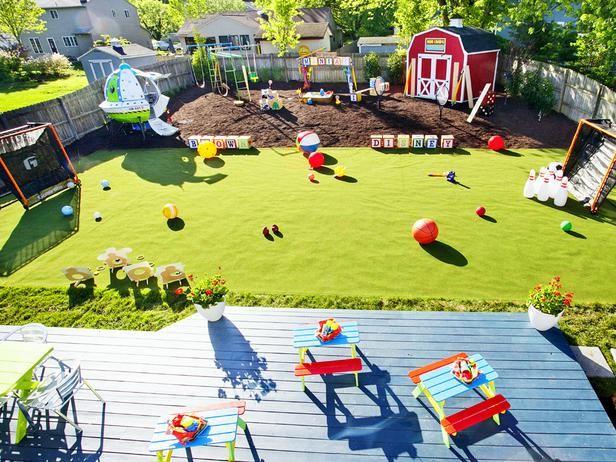 Magical Backyard Makeovers | Backyard makeover, Backyard for kids .