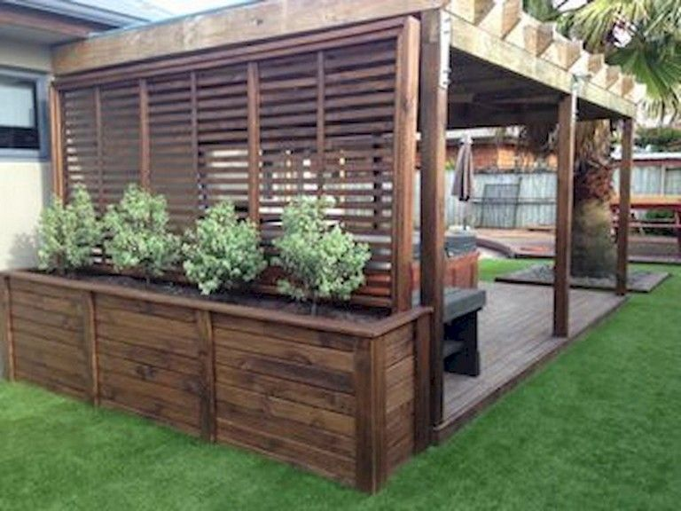 64+ Amazing Privacy Fence for Patio & Backyard Landscaping Ideas .