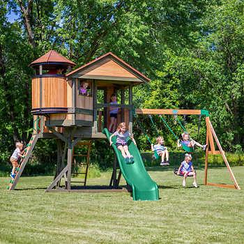 Backyard Discovery Eagle's Nest Elite Playset- Do It Yourse