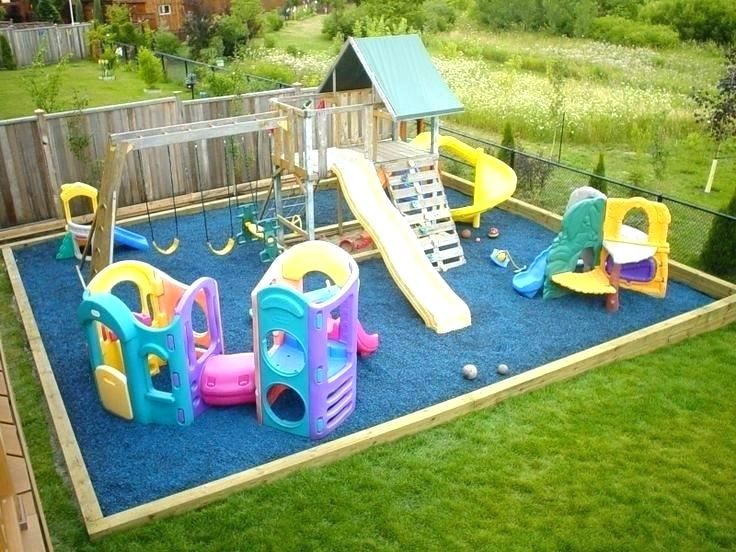 53 Creative Backyard Playground Landscaping Ideas | Play area .