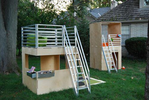 Modern Playhouses by Play Modern - Design Milk | Modern playhouse .
