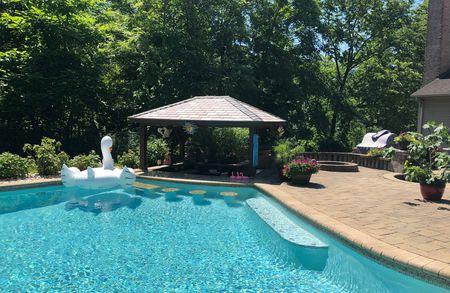 A controversial backyard pool rental app is booming in N.J. during .