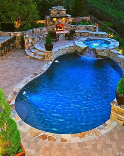 Backyard oasis pool paradise 56 Ideas | Small pool design .