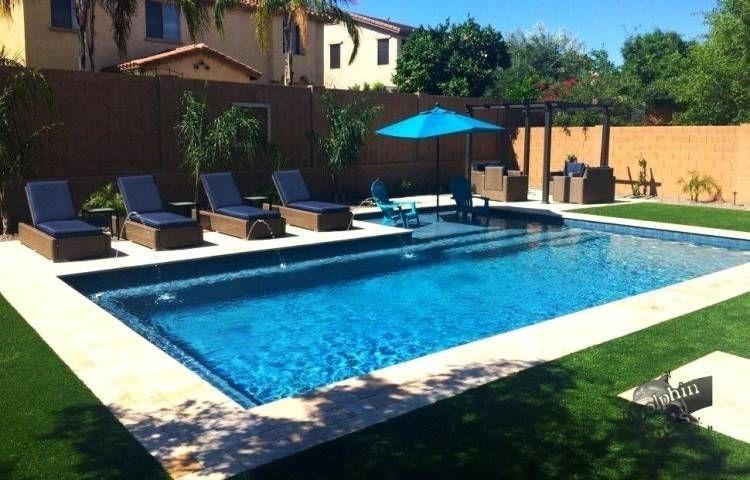 PoolDesigns | Backyard pool landscaping, Inground pool designs .