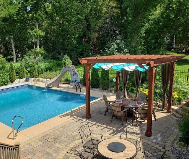 Backyard Pool Pergola Ideas | Beautiful Poolside Pergola Ideas for .