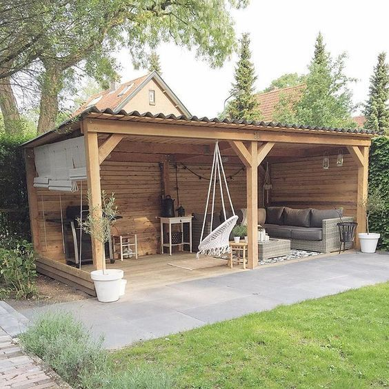 47 INCREDIBLE BACKYARD STORAGE SHED DESIGN AND DECOR IDEAS .