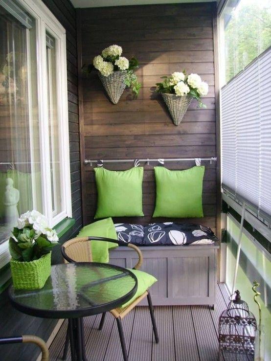 25 Best Small Balcony Design Ideas | Apartment balcony decorating .